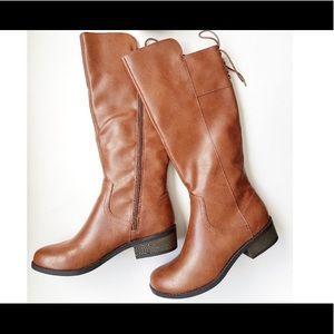 NWT Arizona AZ Chet Cognac Boots Size 8